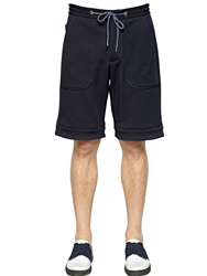 Antonio Marras Cotton Jogging Shorts Navy