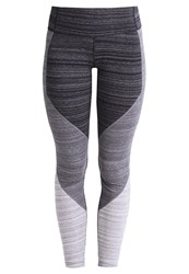 Gap Gfast Tights Black Space Dye