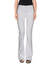 Ralph Lauren Black Label Denim Denim Trousers Women White