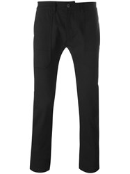 Diesel Black Gold Tapered Trousers Black