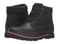 The North Face Bridgeton Chukka Stonehenge Grey Rudy Red Men's Lace Up Boots Brown