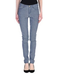 Naf Naf Denim Pants Slate Blue