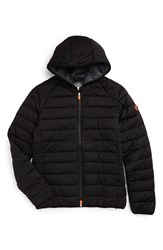 Save The Duck Men's Hooded Puffer Jacket