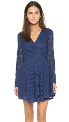6 Shore Road Starry Lace Dress Ocean