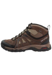 Salomon Evasion Gtx Walking Boots Brown Burro Dark Navajo