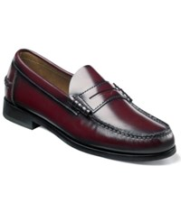 Florsheim Berkley Penny Loafers Men's Shoes Burgundy