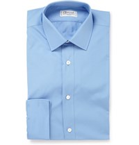Charvet Blue Cotton Shirt One