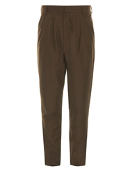 Cerruti Pleated Wool Trousers