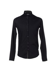 Aglini Shirts Shirts Men Black