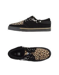 T.U.K. Tuk Low Tops And Trainers Black
