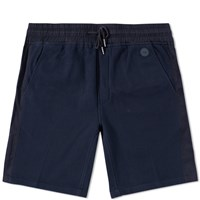 Folk Jersey Short Blue
