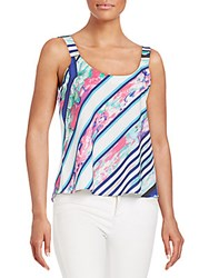 Amanda Uprichard Adventura Printed Tank Multi