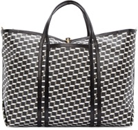 Pierre Hardy Black Cube Perspective Tote Bag