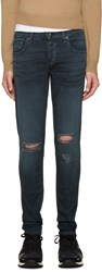 Rag And Bone Blue Standard Issue Jeans