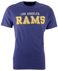 47 Brand '47 Men's Los Angeles Rams Mvp Flanker T Shirt Blue