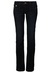 Only Ebba Rea Bootcut Jeans Blue Denim
