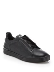Ermenegildo Zegna Triple X Clean Part. 2 Sneakers Black