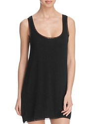 Addiction Mesh Trim Chemise Black