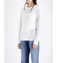 Paige Amory Wool Blend Jumper Cream