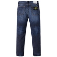 Stone Island Slim Tapered Jean Blue