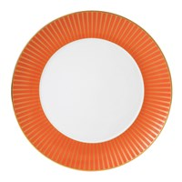 Wedgwood Palladian Plate Orange Accent 28Cm