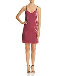 Necessary Objects Velvet Slip Dress Compare At 88 Rose