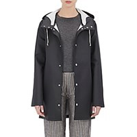 Stutterheim Raincoats Women's Stockholm Raincoat Black Blue Black Blue