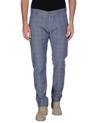 Re Hash Trousers Casual Trousers Men Slate Blue