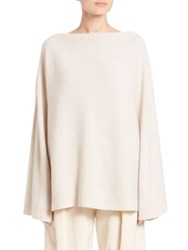 Donna Karan Cashmere Dolman Sweater Natural
