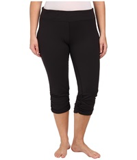 Soybu Plus Size Allegro Capri Black Women's Capri