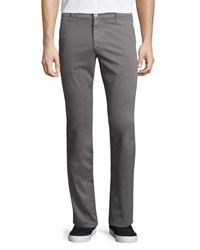 Ag Adriano Goldschmied Lux Slim Fit Chino Pants Gray Size 36
