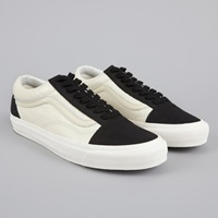 Vans Vault Og Old Skool Lx Black White Asparagus