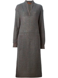 Missoni Vintage Knitted Dress Green