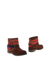 Bryan Blake Footwear Ankle Boots Women Dark Brown