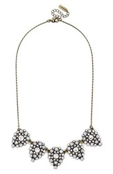 Women's Baublebar 'Frost' Crystal Teardrop Necklace