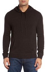 Lanai Collection Men's Wool And Cashmere Knit Hoodie Timber