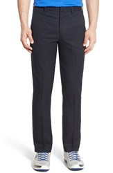 Men's Bobby Jones 'Tech' Flat Front Wrinkle Free Golf Pants Black