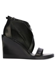 Ann Demeulemeester 'Ratio' Sandals Black