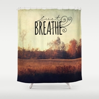 Just Breathe Shower Curtain By Sylvia Cook Photography Society6