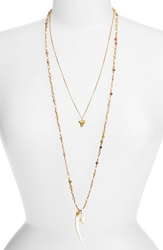 Chan Luu Double Strand Pendant Necklace African Opal