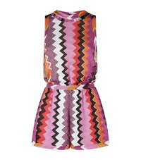 Missoni Mare Open Side Zig Zag Playsuit Female Multi