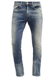 Ltb Louis Slim Fit Jeans Nevosa Wash Bleached Denim