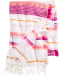 Collection Xiix Convertible Beach Bestie Blanket Wrap Orange Spark