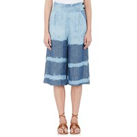 Banjanan Chambray Safari Culottes Denim