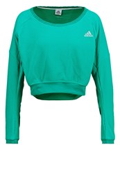 Adidas Performance Cozy Sweatshirt Dark Green