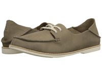 Olukai Moku Leather Clay Clay Women's Lace Up Casual Shoes Brown