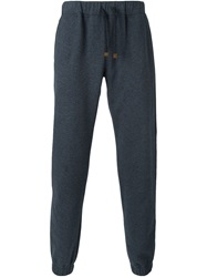 Eleventy Loose Fit Track Pants Grey