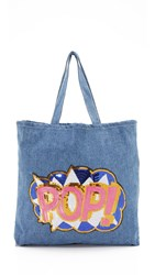 Zhuu Pop Tote Denim