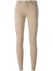 7 For All Mankind Skinny Jeans Nude And Neutrals