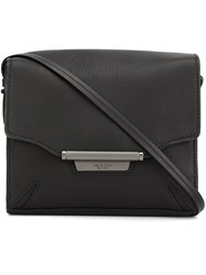 Rag And Bone Flap Closure Cross Body Bag Black